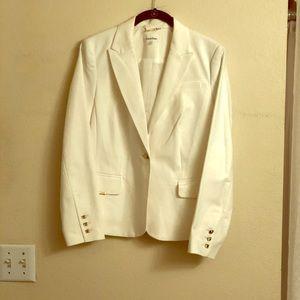 Calvin Klein white blazer